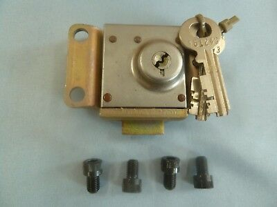 Northern Electric Payphone Lock NE-22 QC w/2 Keys Western Electric Telecom AT&T