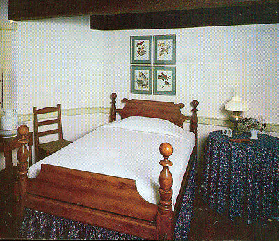 Antique Cannonball Bed 3 4 Width