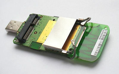 Mini Pci-E (Mini Pci Express) Wwan 3G Modem To Usb Adapter Sim Card Slot Antenna