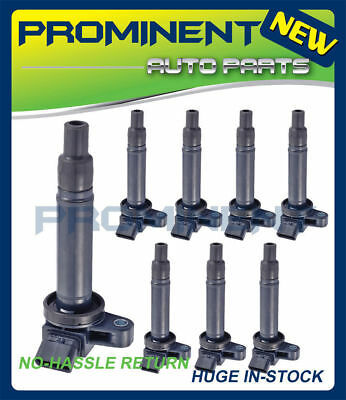 Set of 8 Ignition Coil for Lexus GS430 LS430 Toyota Tundra Sequoia C1173 UF-230