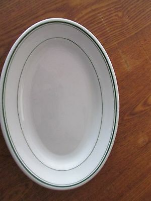 """8 3/4""""  GRINDLEY HOTEL WARE WHITE  PLATTER  MADE IN ENGLAND"""