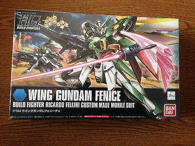 006 Wing Gundam Fenice Model Kit(Build Fighters) HGBF Bandai FREE SHIPPING