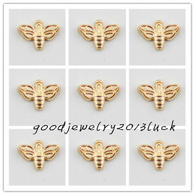 ~HOT 10pcs bee Spray Floating Charms for Glass Memory Locket necklace e1755