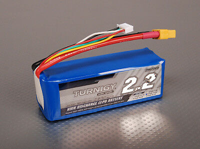RC Turnigy 2200mAh 4S 40C Lipo Pack