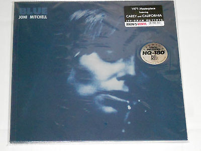 JONI MITCHELL  Blue  180g LP gatefold New Sealed Vinyl