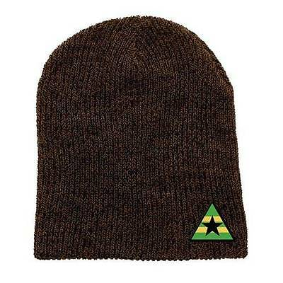 Serenity FIREFLY Licensed MAL Independent's FLAG Patch Marled Winter Beanie HAT