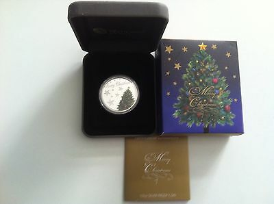 2013 Australia Merry Christmas 1/2 oz Proof Silver Coin