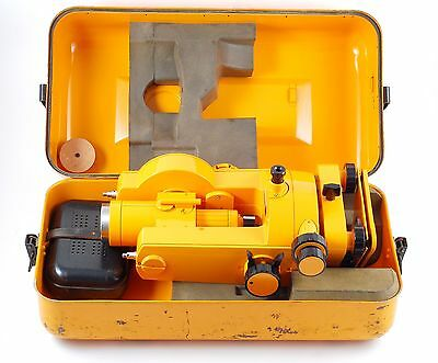 CARL ZEISS THEO 020B THEODOLITE GERMANY TRANSIT LEVEL SURVEYING TOOL