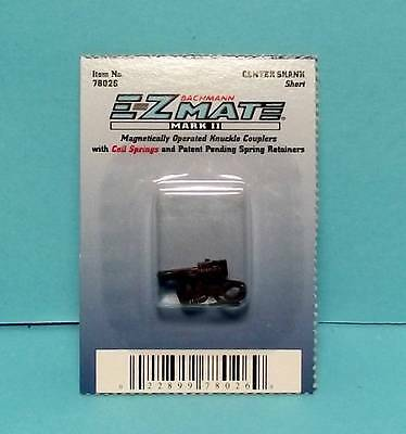 "HO Gauge-Bachmann-78026-EZ-MATE  MARK II ""Center Shank Short"" Knuckle Coupler"