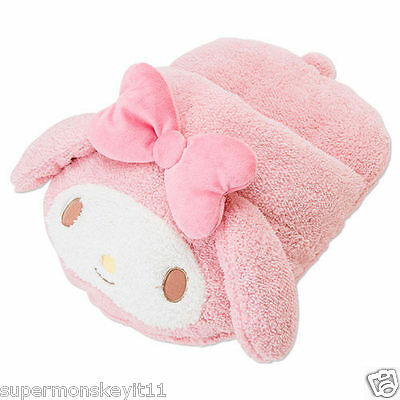 Sanrio Hello Kitty My Melody Pink Room Slipper Plush Warm Shoes 161462
