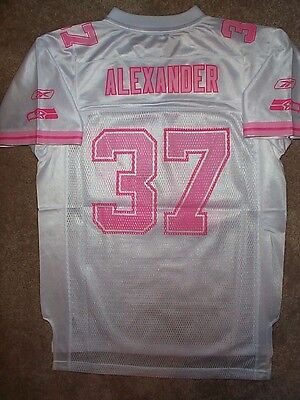 070fffe3b REEBOK Seattle Seahawks SHAUN ALEXANDER nfl THROWBACK Jersey Youth  GIRLS   (xl)