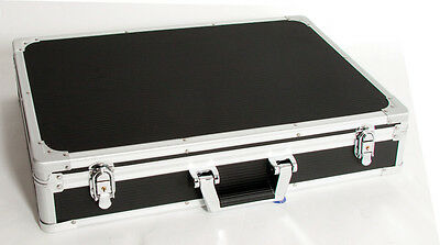 CNB - Pedal road case, removable lid. Large Hardcase. Aluminium binding