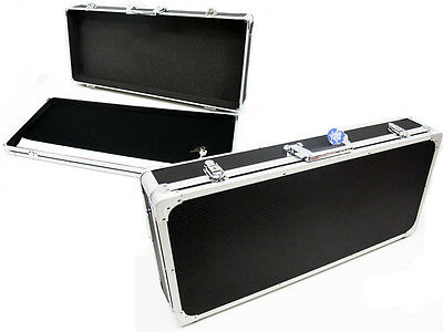 CNB - Pedal road case, removable lid. EX Large Hardcase. Aluminium binding