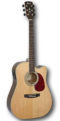 Cort Acoustic Electric Dreadnought Guitar MR710F Natural Satin, Warranty rrp$639