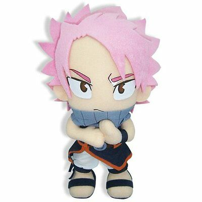 "New Fairy Tail Anime GE-6969 ~ 8"" Natsu Dragneel Official Plush Toy Doll Stuffed"