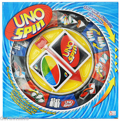 UNO Card Board Games With Spin