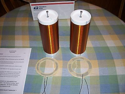 Two Tesla Coil Primary & Secondary Coils, Slayer Exciter