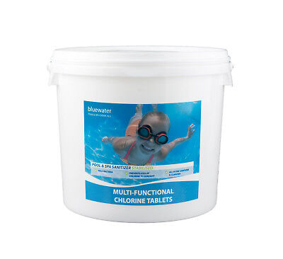 Multifunctional Chlorine Tablets 5kg For Swimming Pools Large 200g Tablets