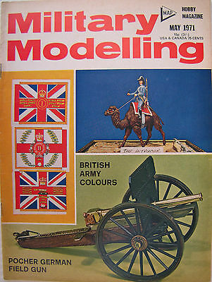 MILITARY MODELLING - Volume 1 No.5 May 1971 - Modelling Techniques