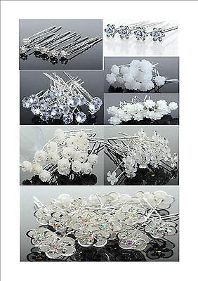 Bridal / Wedding / Prom / Formal / Special Occasion Decorative Hair Pins Variety