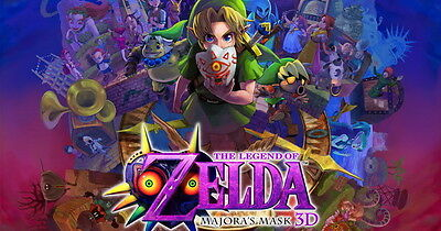 "Majora s Hot Video Game 22/""x14/"" Poster 018 The Legend of Zelda Majoras Mask"