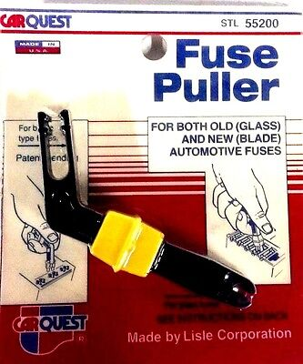 Lisle (CarQuest) Automotive Glass/Blade Fuse Puller Clips *Made In The USA* NOS