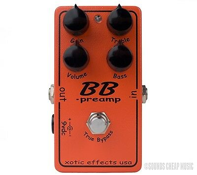 New! Xotic BB Preamp Overdrive Pedal