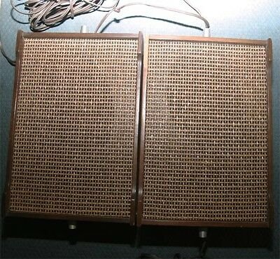 Vintage Jensen Compact 2 way speaker pair Rare Local Pick Up Only