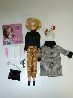 Tressy Doll Palitoy Hair Doesn't Grow Clothes Accessories Dog American Character