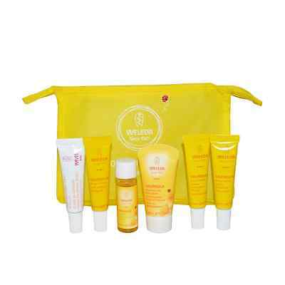 Weleda Baby Care Calendula Kit 6 Pieces 100% Natural Cosmetic Newborn Eco Gift