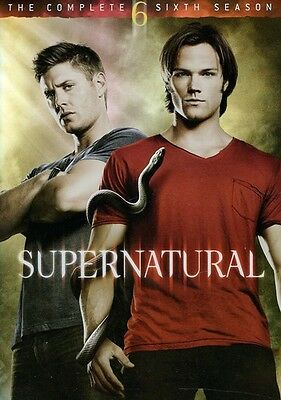 Supernatural-Supernatural: Season 6 REGION1 DVD