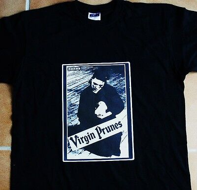 T-Shirt du groupe VIRGIN PRUNES (Neuf)