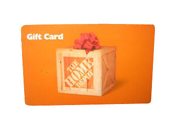 228.68 Home Depot Gift Card/ store credit
