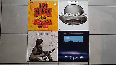 4 x LP LEO KOTTKE : Ice water + Time Step + A shout Toward Noon + 6 & 12 string