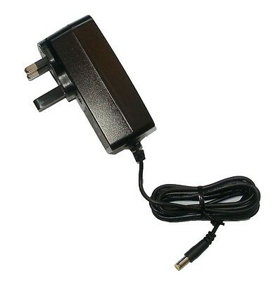 Replacement Power Supply For The Yamaha Psr-350 Keyboard Adapter Uk 12V