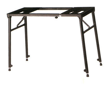 XTREME - Black heavy duty bench style keyboard stand with four legs. Folds flat.