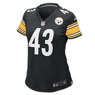 Nike Womens Steelers Polamalu On Field Game Day Jersey XS (469913 012)