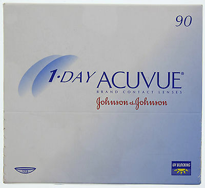 1-Day Acuvue - 90 Tageslinsen - Johnson & Johnson Korrekturlinsen