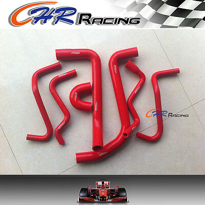 Silicone heater hose for HOLDEN VT/VX/WH Commodore V6 3.8L 1997-2002 red