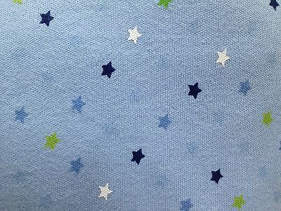 Jiggle Giggle 100 % Cotton Baby Boys Blue Star Cot Fitted sheet  Twinkle