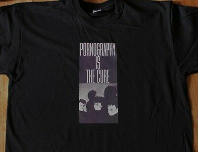 "T-Shirt du groupe THE CURE ""Pornography is the Cure"" (neuf)"