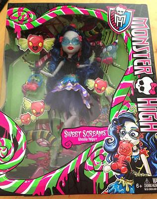 Monster High Sweet Screams Ghoulia Yelps Doll Exclusive New