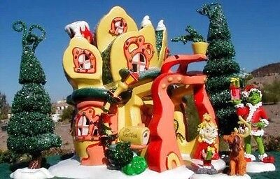 Dept 56 Dr.Seuss how The Grinch Stole Christmass Cindy Lou Who's House