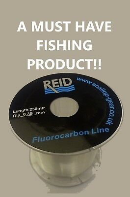 100% Fluorocarbon Line - Feared by Fish - All Sizes