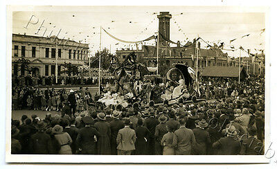 1934 Photo Centenary Of Victoria Float In Parade Hawthorn Float X70