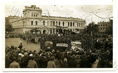 1934 Photo Centenary Of Victoria Float In Parade Essendon Float X75
