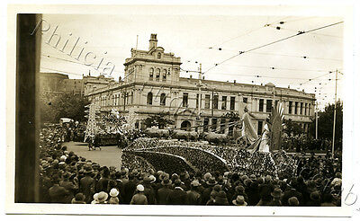 1934 Photo Centenary Of Victoria Float Lincoln Mills Coburg Float X77