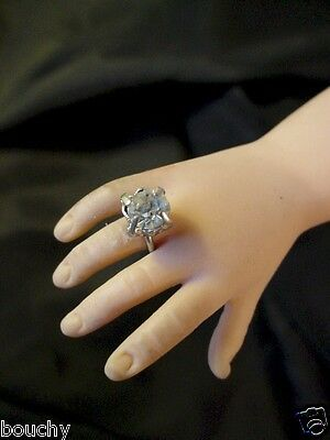 VINTAGE RHINESTONE RING FITS 1950S MADAME ALEXANDER ELISE DOLL OLD STORE STOCK