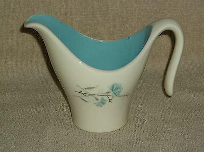 Taylor Smith Taylor Boutinniere Blue Carnation  Open Creamer Pitcher Bowl