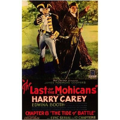 The Last of the Mohicans -  Classic Cliffhanger Serial DVD  Harry Carey